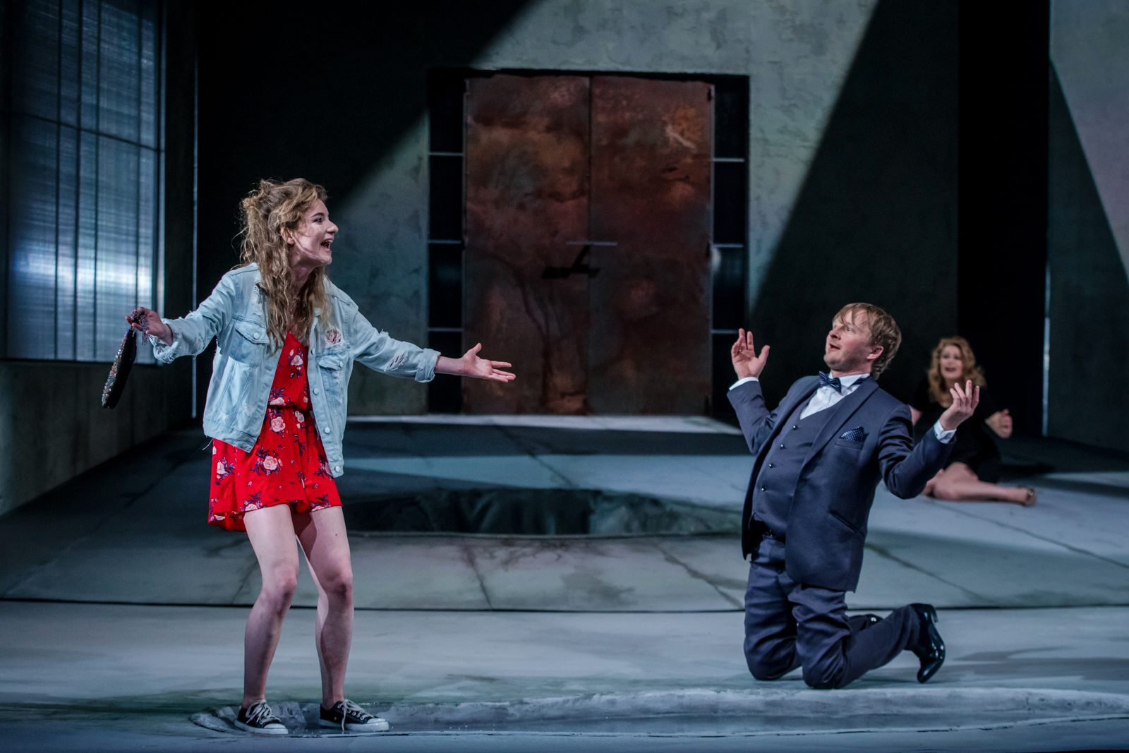 """""""Pijani"""", Teatr Dramatyczny w Warszawie, fot. Katarzyna Chmura-Cegiełkowska"""