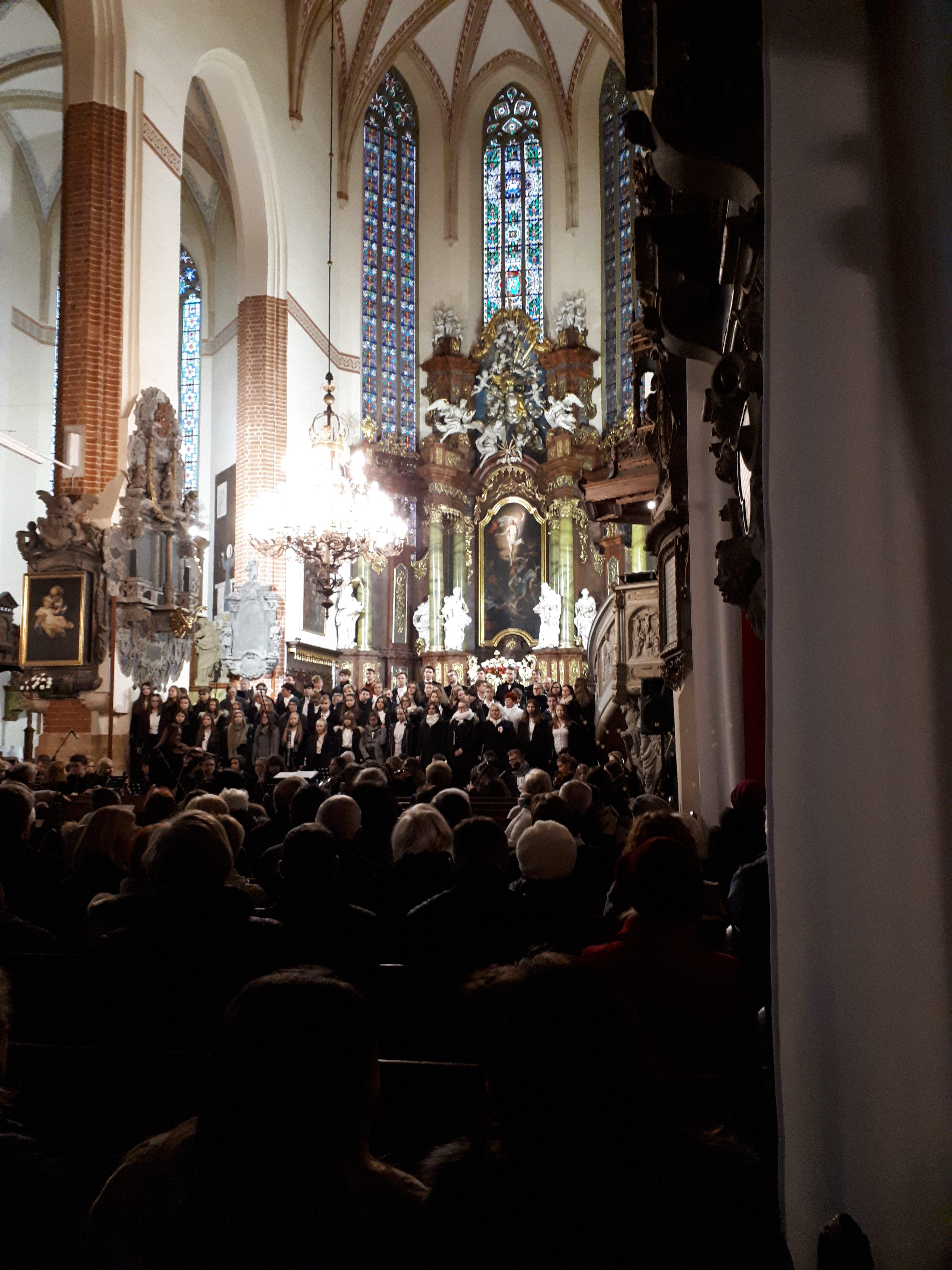 """Koncert dla Niepodległej"". Katedra Legnicka, 17.11.2018. Fot. Kamila Łapicka"
