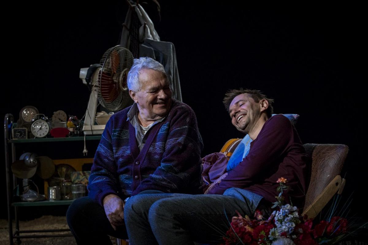 """""""Smutek i melancholia"""", reż. Piotr Waligórski, Teatr Dramatyczny w Warszawie. Fot. Katarzyna Chmura"""